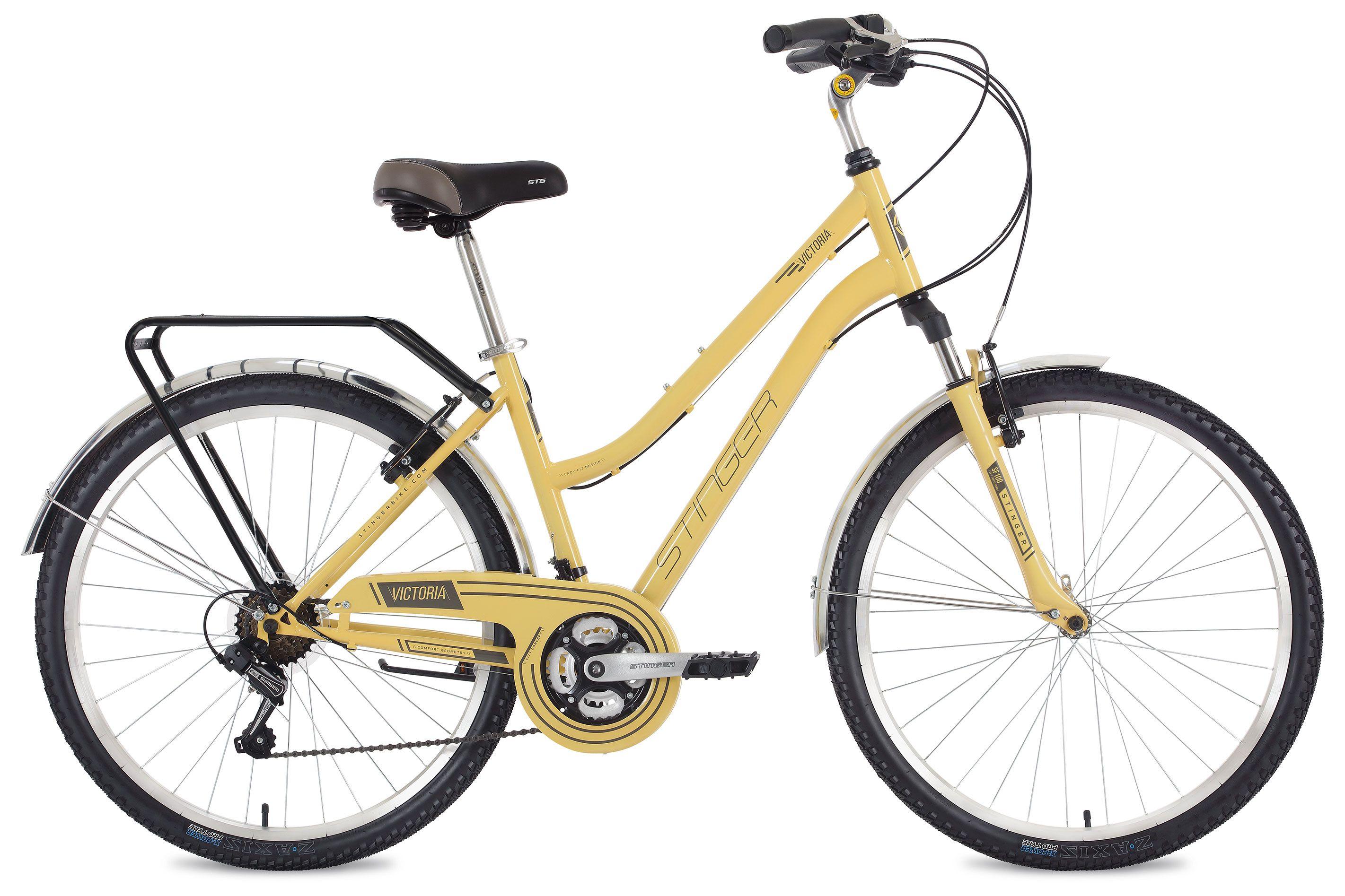 Велосипед Stinger Victoria 26 2018 комплектующие