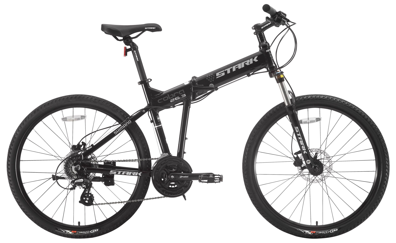 Велосипед Stark Cobra 26.3 HD 2017,  Складные  - артикул:275625
