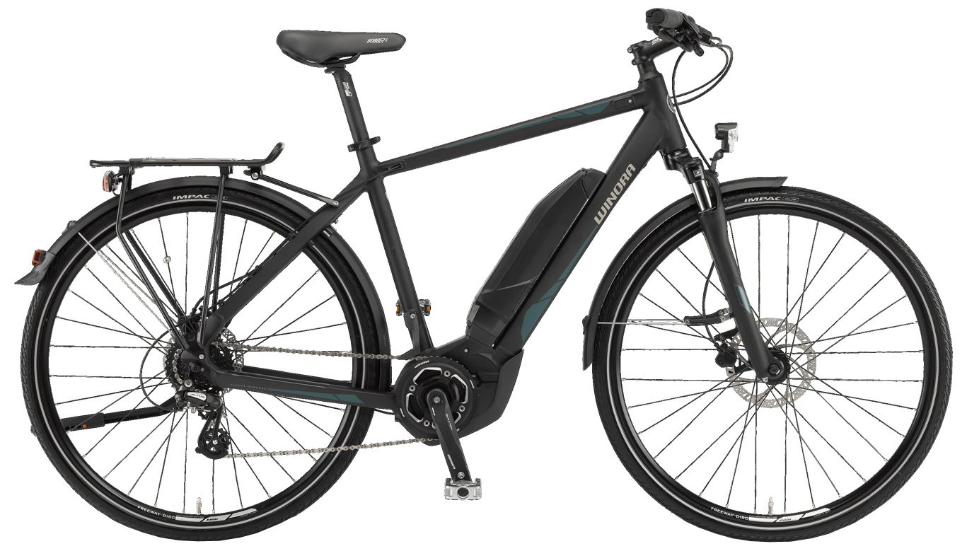 Велосипед Winora Y280.X men 400Wh 2017,  Электро  - артикул:283256