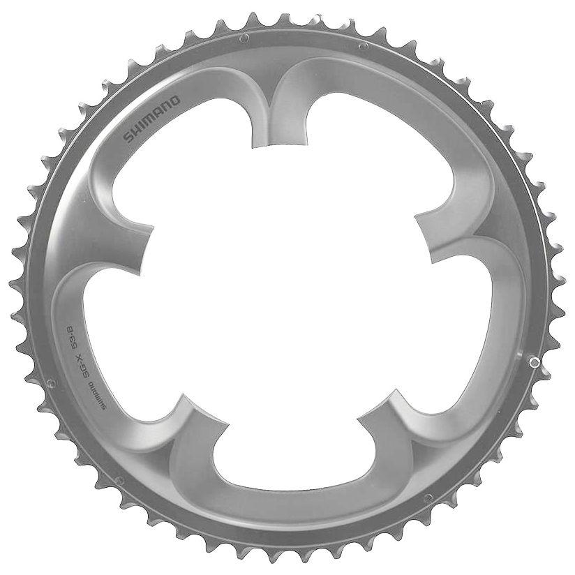 Запчасть Shimano передняя Ultegra FC-6700G, 52T-B запчасть shimano ultegra 6700 ics670010225