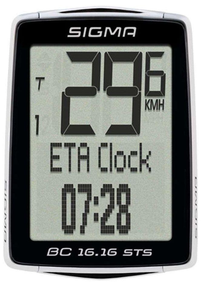 Аксессуар SIGMA BC 16.16 STS CAD,16 функций датчик sigma скорости беспроводной sts арт 00439