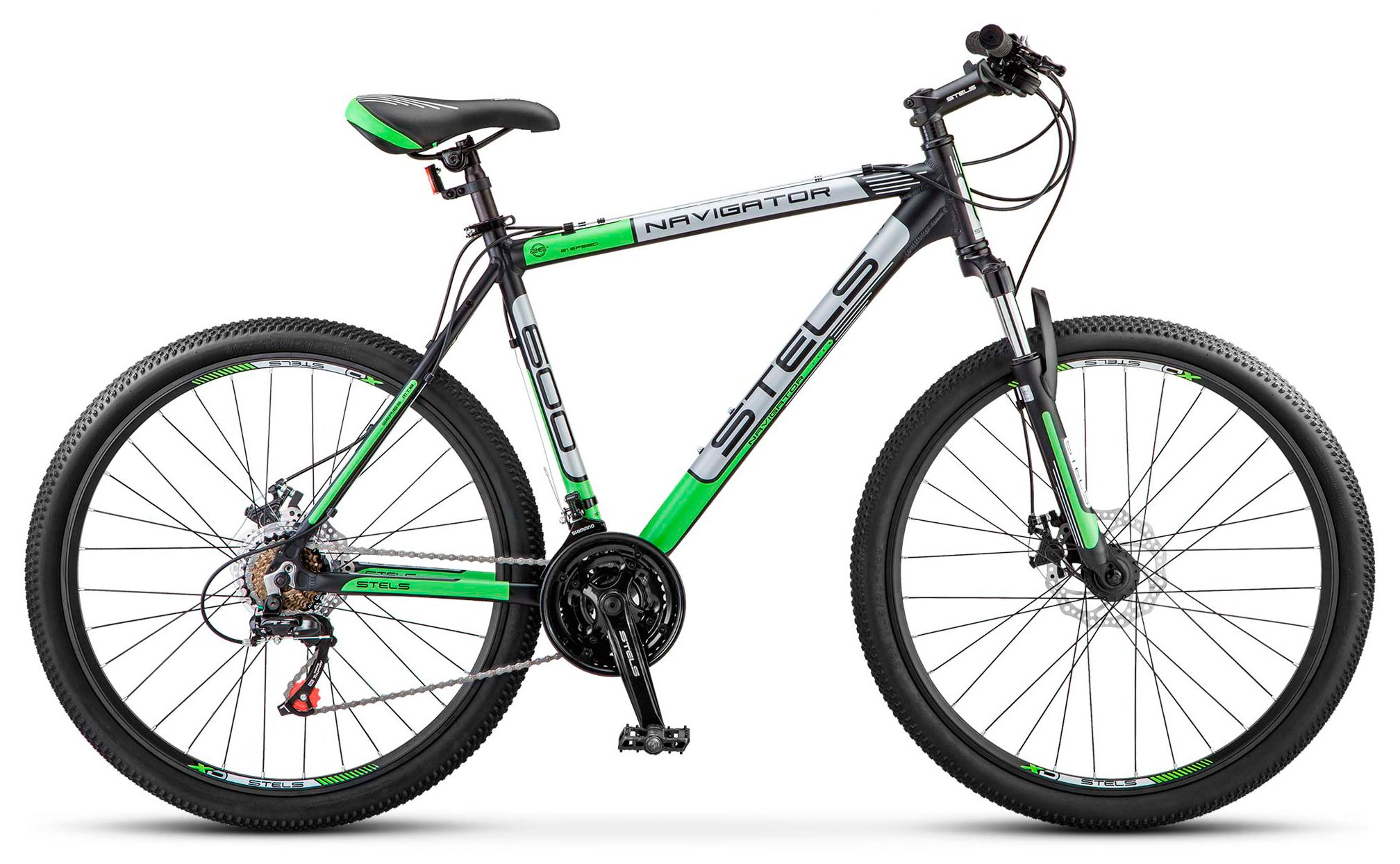 Велосипед Stels Navigator 600 MD 26 (V030) 2018 велосипед stels navigator 380 2016