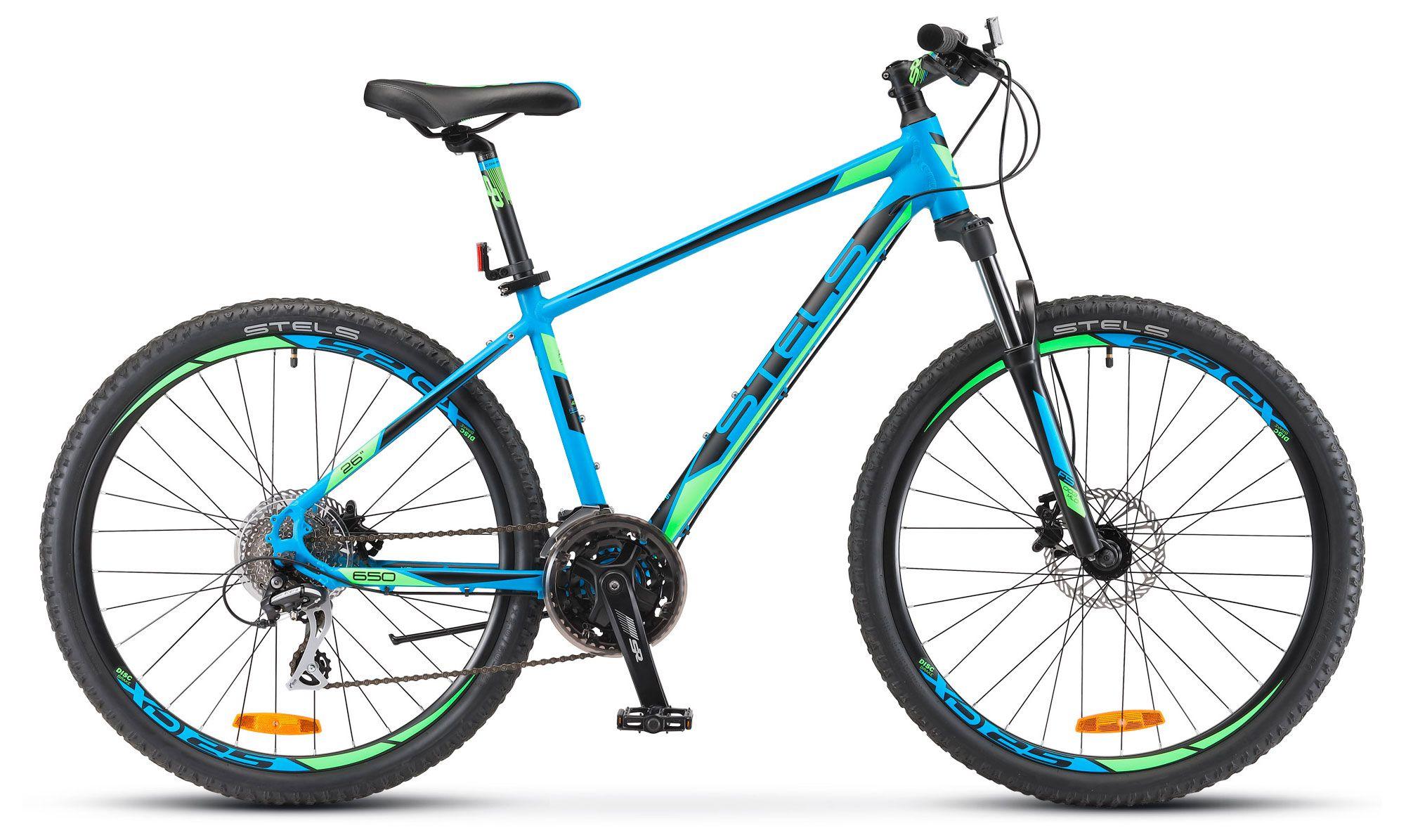 Велосипед Stels Navigator 650 D 26 (V010) 2018