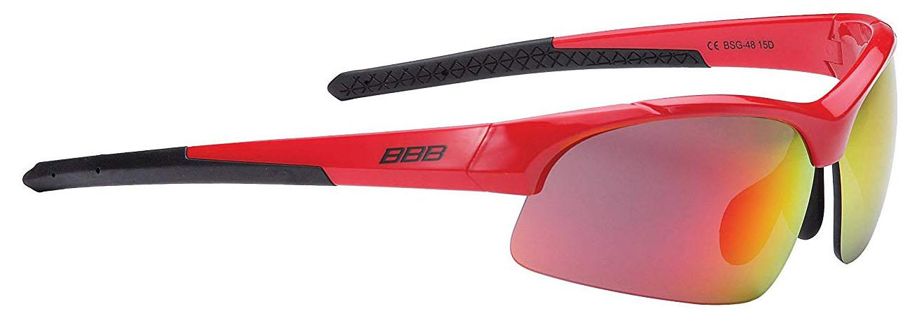 Аксессуар BBB BSG-48 Impress Small glossy white PC smoke lenses