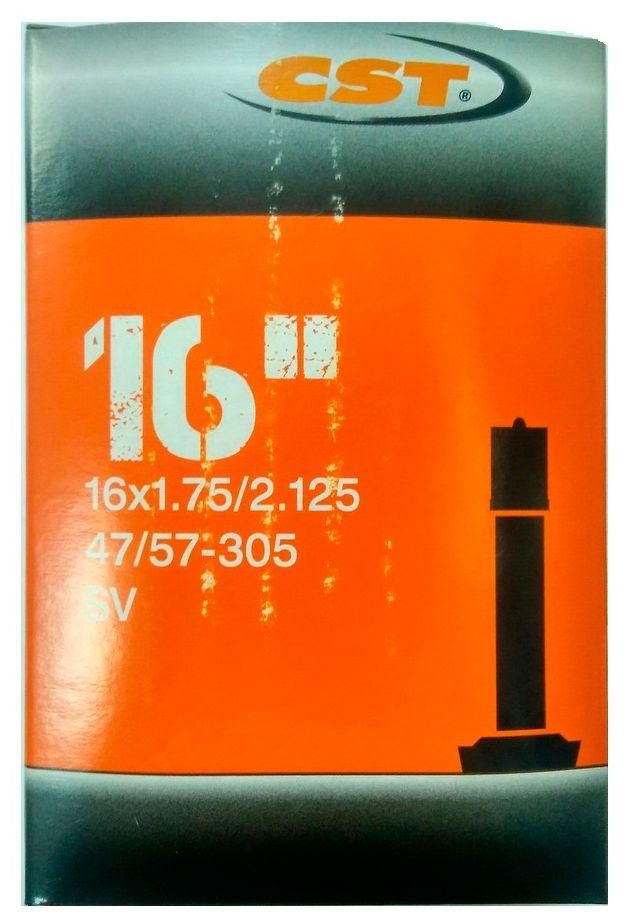 Товар CST 16x1.75/2.125 Schrader,  камеры для велосипеда  - артикул:287522