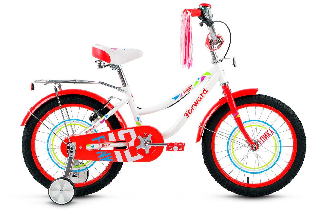 Велосипед Forward Funky 18 girl 2017 сигнал для детского велосипеда