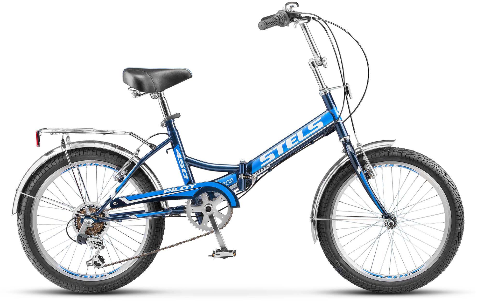 Велосипед Stels Pilot 450 20 (Z011) 2018 велосипед stels pilot 450 13 5 2017 black green