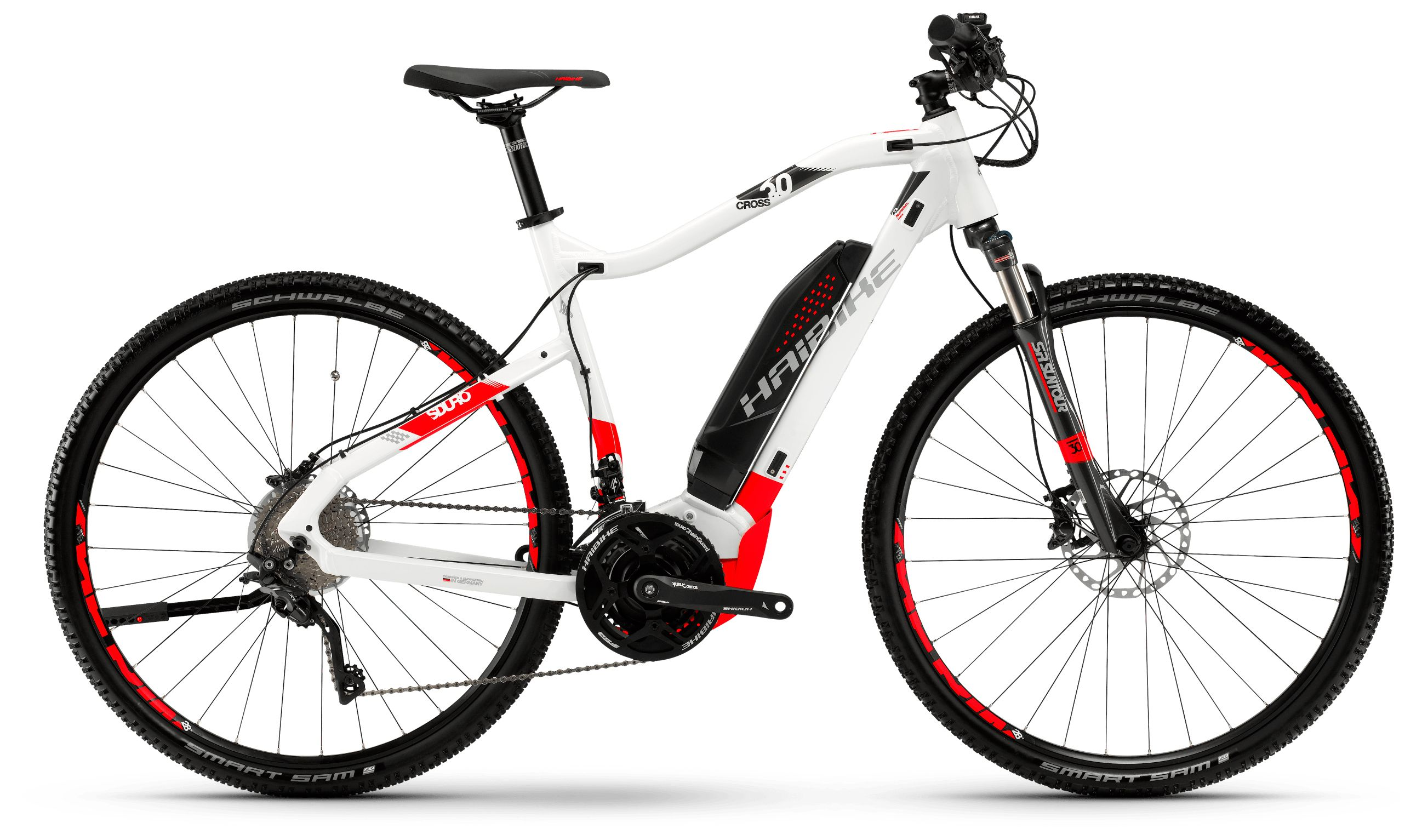 Велосипед Haibike Sduro Cross 6.0 men 500Wh 20s XT 2018