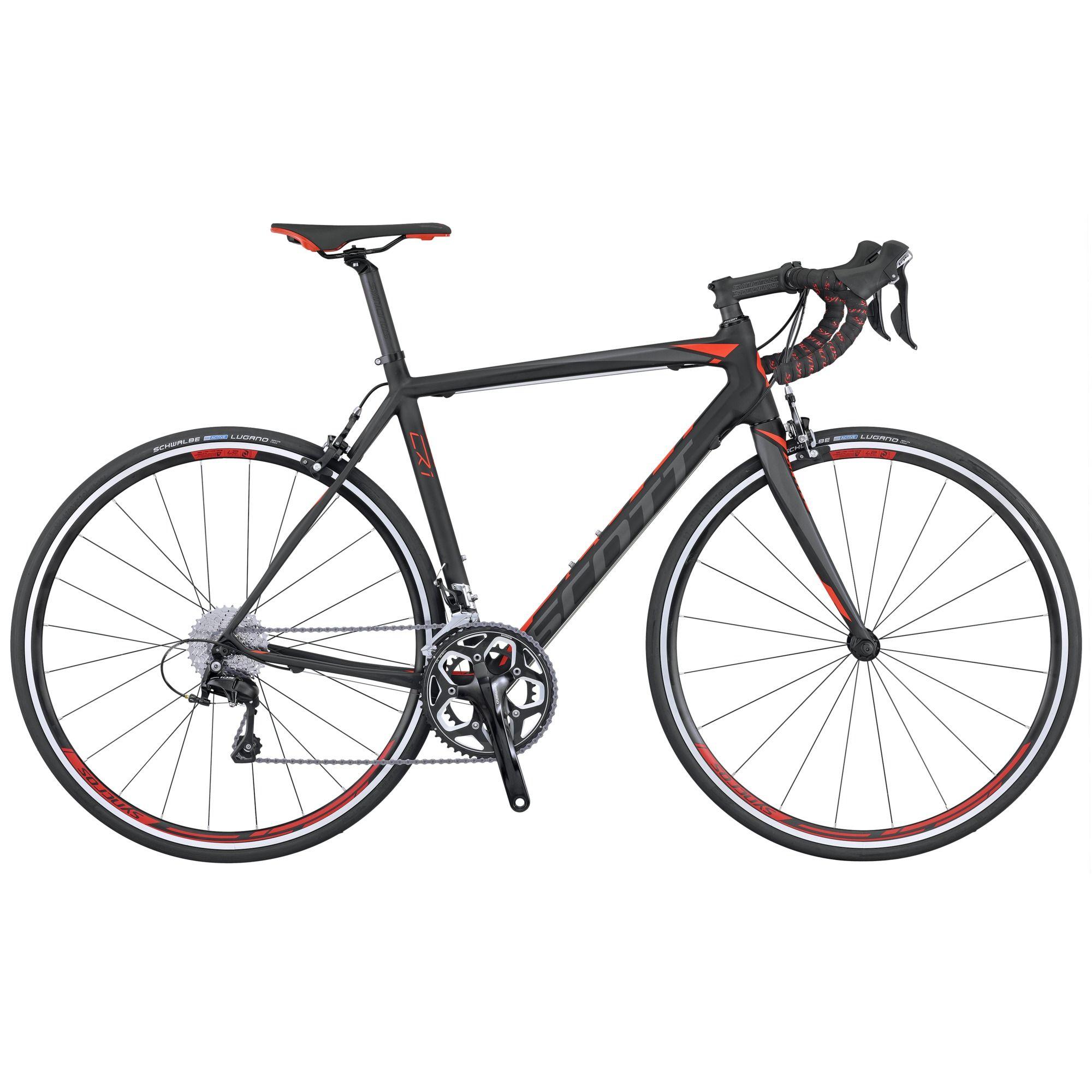 Велосипед ScottШоссейные<br><br><br>year: 2016<br>цвет: чёрный<br>пол: мужской<br>уровень оборудования: продвинутый<br>рулевая колонка: Ritchey Int. Cartridge<br>вынос: Syncros FL2.0, 1 1/8 / four Bolt 31.8 мм<br>руль: Syncros RR2.0, Anatomic 31.8 мм<br>передний тормоз: Shimano BR-R561, Super SLR Dual pivot<br>цепь: KMC X11<br>система: Shimano FC-RS500, Hyperdrive, 34x50T<br>каретка: Shimano BB - RS500-PB<br>ободья: Syncros Race 27 Aero Profile, спереди: 20H, сзади: 24H<br>передняя втулка: Formula Team, 20H<br>задняя втулка: Formula Team, 24H<br>спицы: 14G Stainless, 2 мм<br>передняя покрышка: Schwalbe Lugano, 700 x 23C<br>задняя покрышка: Schwalbe Lugano, 700 x 23C<br>седло: Syncros FL2.5<br>подседельный штырь: Syncros RR1.4 Carbon/AL, 31.6 мм<br>кассета: Shimano 105 CS-5800, 11-32T<br>манетки: Shimano 105 ST-5800, Dual control<br>вес: 8.16 кг<br>рама: CR1 Carbon / IMP Carbon technology / Road Comfort geometry / INT BB<br>вилка: CR1 Carbon 1 1/8 Carbon steerer, Alloy Dropout<br>размер рамы: 20.5&amp;amp;quot;<br>материал рамы: карбон<br>тип тормозов: ободной<br>передний переключатель: Shimano 105 FD-5800<br>задний переключатель: Shimano 105 RD-5800-GS<br>количество скоростей: 22