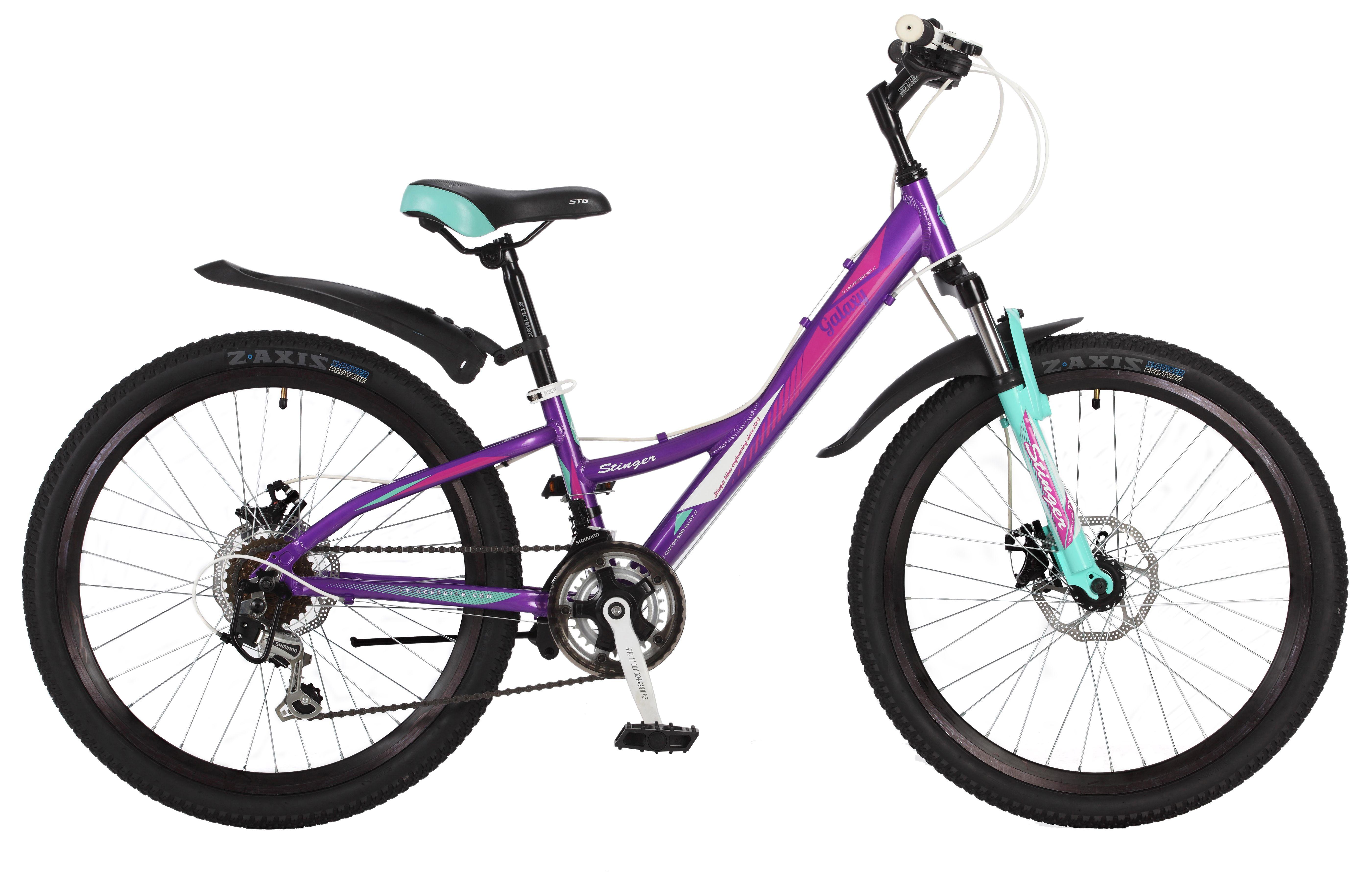 Велосипед Stinger Galaxy D 24 2017 велосипед stinger galaxy 24 2016