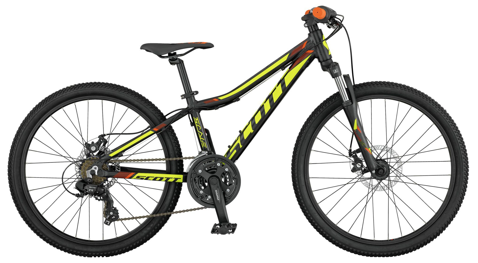 Велосипед Scott Scale JR 24 disc 2017 велосипед scott scale jr 24 rigid fork 2017