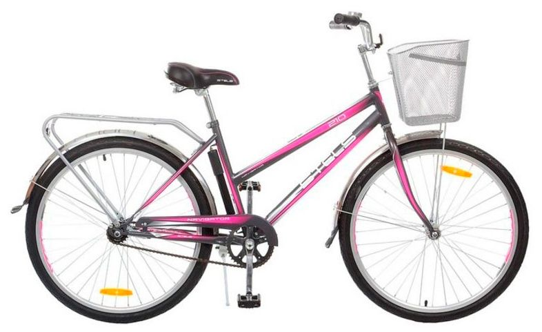 Велосипед Stels Navigator-210 Lady 26 (Z010) 2017 велосипед stels navigator 380 2016