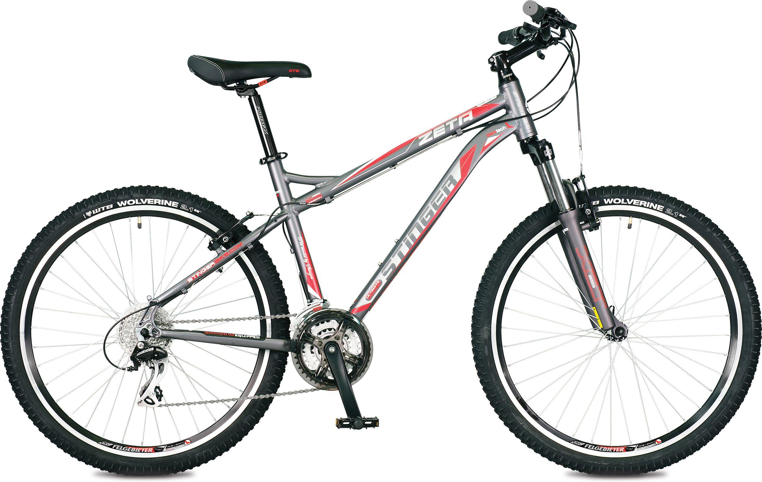 Велосипед Stinger Zeta 26 2016 stinger zeta hd 26 рама 18 черно голубой