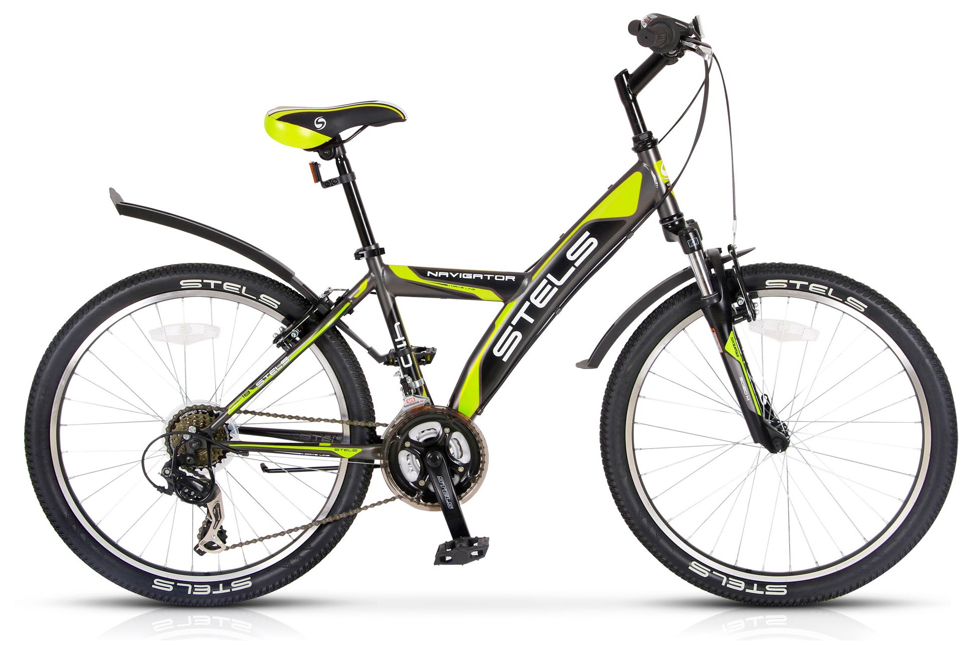 Велосипед Stels Navigator 410 V 18-sp (V030) 2017 велосипед stels navigator 410 v 2016