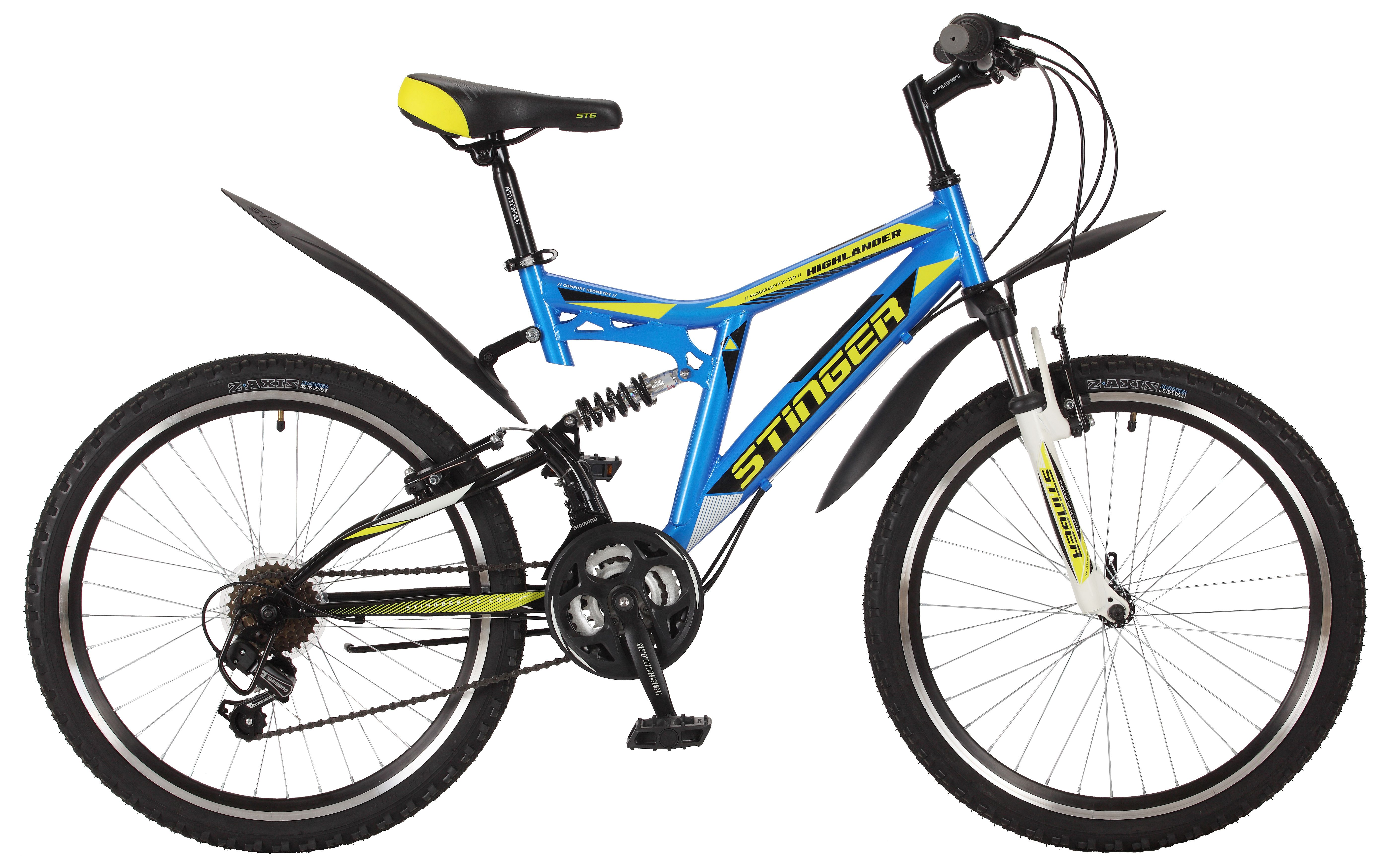 Велосипед Stinger Highlander 100V 24 2017 велосипед stinger highlander 100v 14 2017 blue