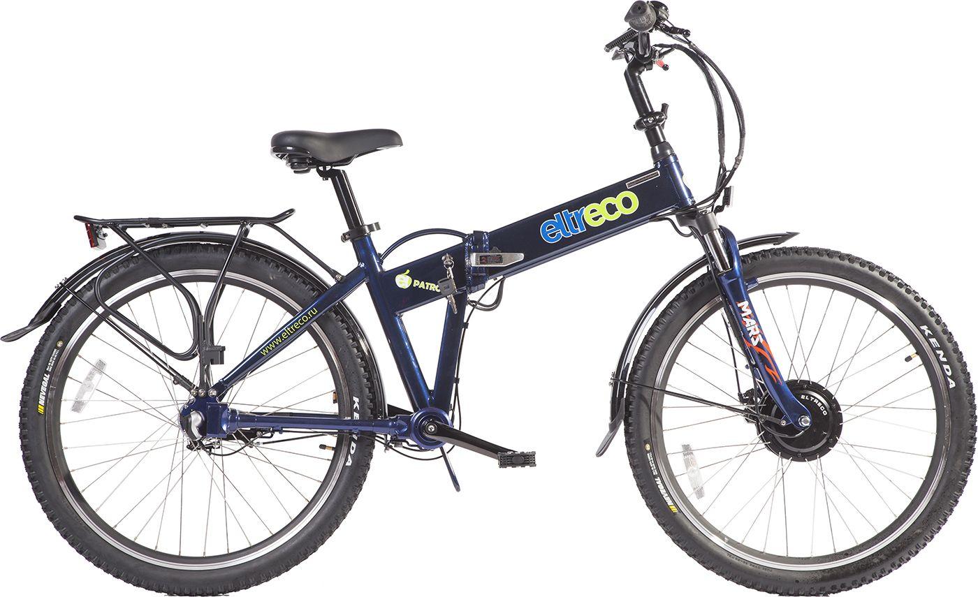 Велосипед EltrecoЭлектро<br><br><br>year: 2016<br>цвет: зелёный<br>пол: мужской<br>тип тормозов: дисковый механический<br>диаметр колеса: 26<br>тип рамы: хардтейл<br>уровень оборудования: любительский<br>материал рамы: алюминий<br>тип амортизированной вилки: пружинная<br>длина хода вилки: до 100 мм<br>тип заднего амортизатора: без амортизатора<br>количество скоростей: 3<br>блокировка амортизатора: нет<br>мощность двигателя: 350W-500W<br>запас хода: свыше 50км<br>вынос: Алюминиевый, регулируемый по высоте<br>передний тормоз: Shimano, диаметр ротора 160 мм<br>задний тормоз: Shimano Roller brake<br>цепь: КМС<br>каретка: Картриджного типа<br>педали: Пластиковые, складные<br>ободья: Алюминиевый сплав, двойные<br>спицы: Нержавеющая сталь<br>передняя покрышка: Kenda Nevegal, 26 х 1,95<br>задняя покрышка: Kenda Nevegal, 26 х 1,95<br>седло: Комфортное<br>задний переключатель: Shimano Nexus<br>манетки: Shimano Nexus 3<br>багажник: Есть<br>крылья: Есть<br>электромотор: Bafang 36 В, 350 Вт, передний привод<br>вес: 25 кг<br>подножка: Есть<br>аккумулятор: Литиево-ионный элемент Samsung, 36 В, 10, 4Ач<br>рама: Алюминиевый сплав 6061, усиленная<br>вилка: RST Mars, с усилителями дропаутов<br>размер рамы: 21&amp;amp;quot;<br>максимальная скорость: 25 - 45км/ч