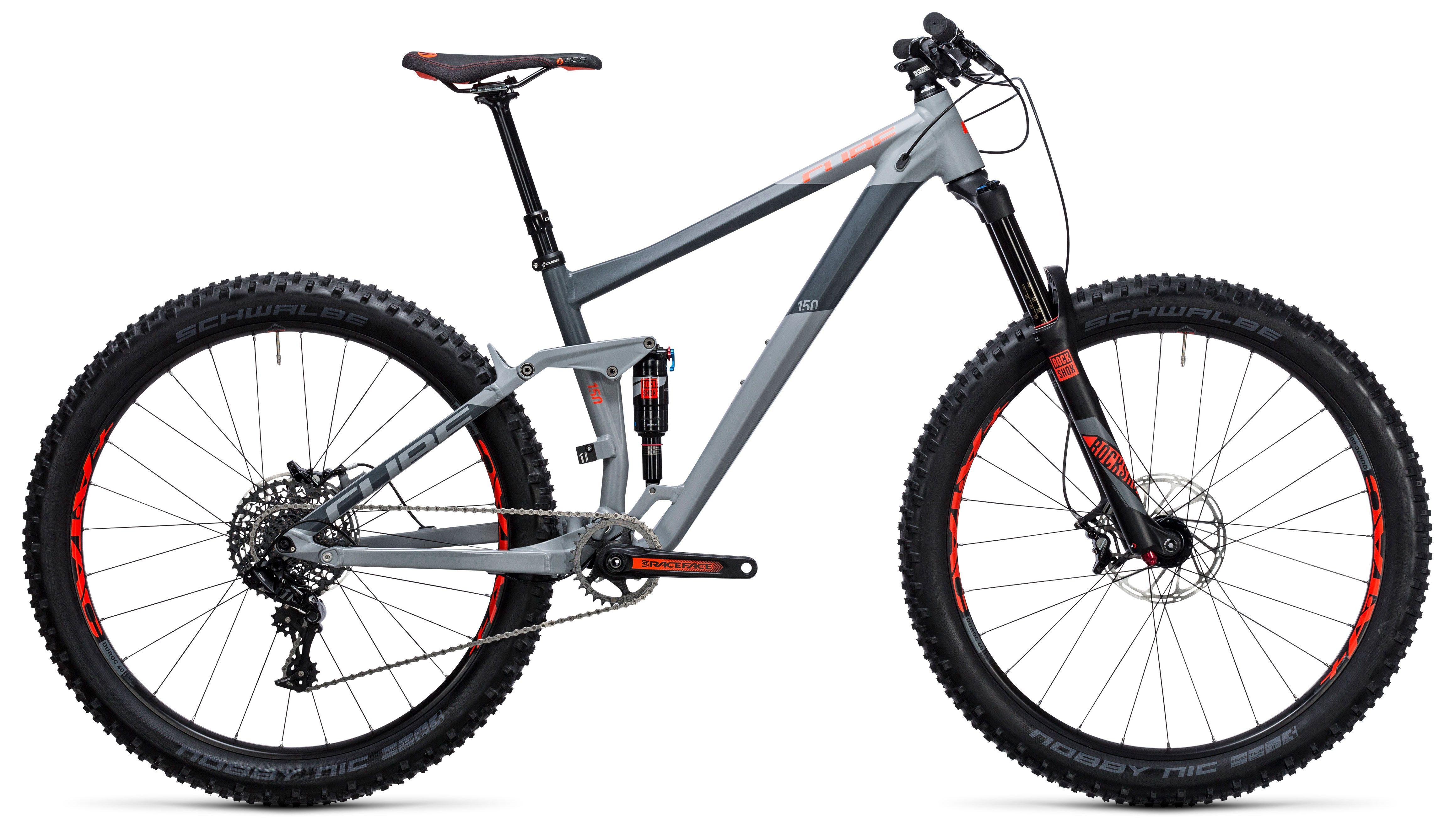 Велосипед Cube Stereo 150 HPA Race 27.5+ 2017,  Двухподвесы  - артикул:273732