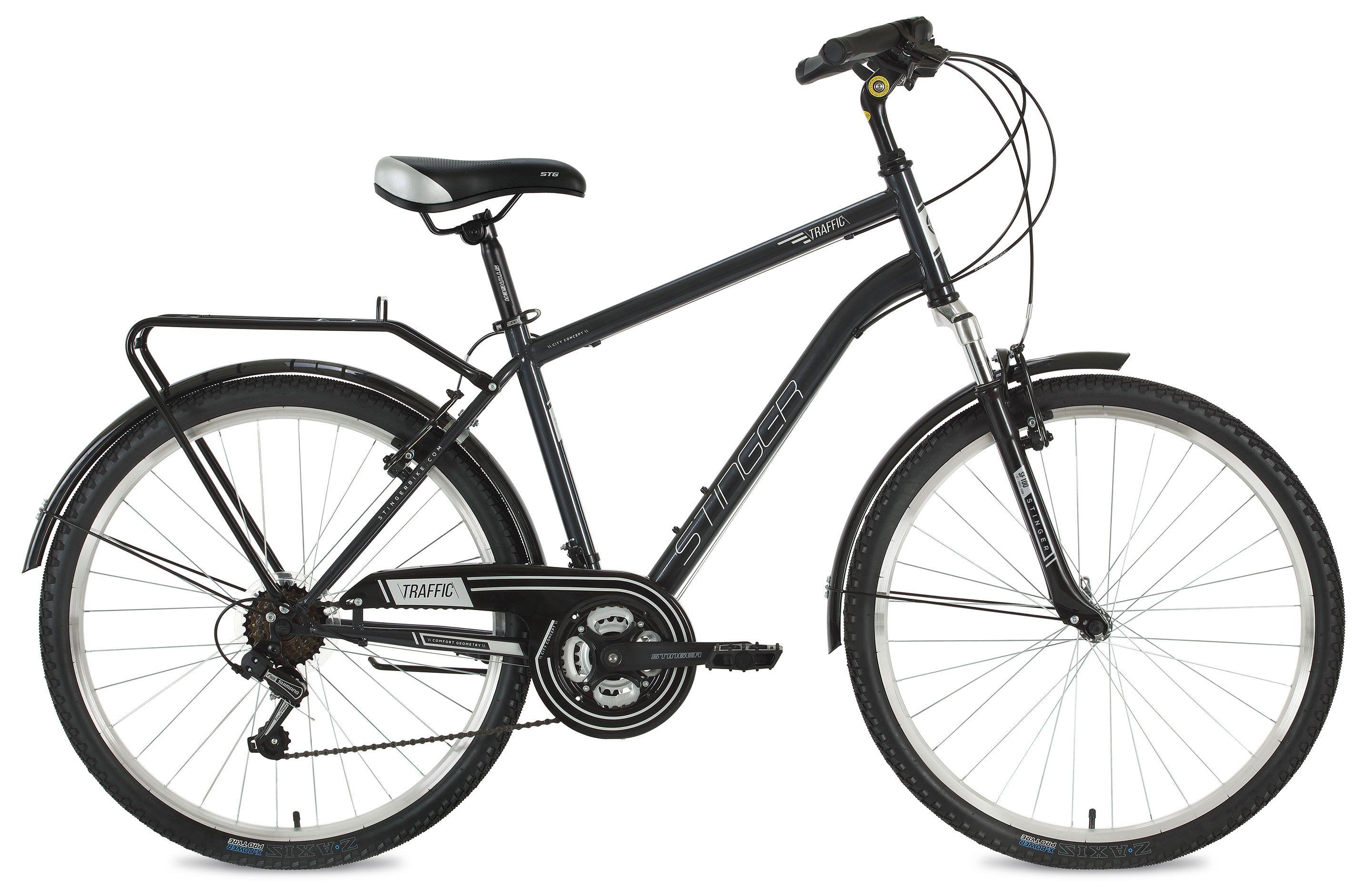 Велосипед Stinger Traffic 26 2018 велосипед stinger cruiser l 26 2016