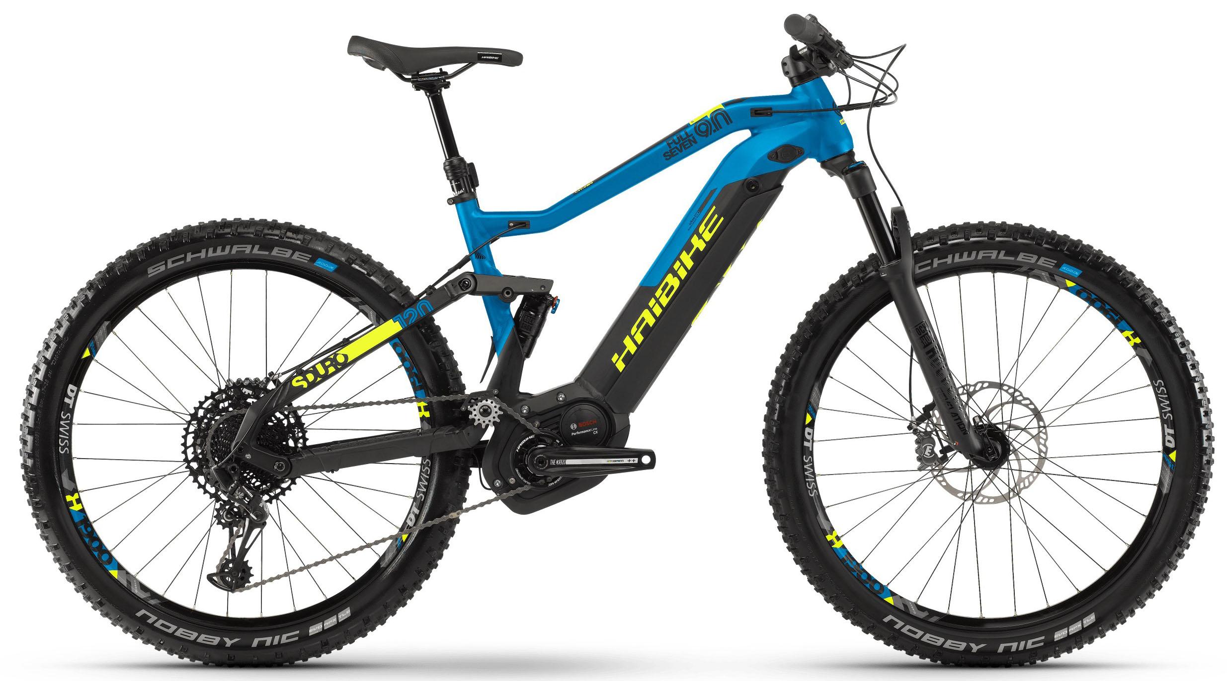 Велосипед Haibike SDURO FullSeven 9.0 i500Wh 12-G NX 2019