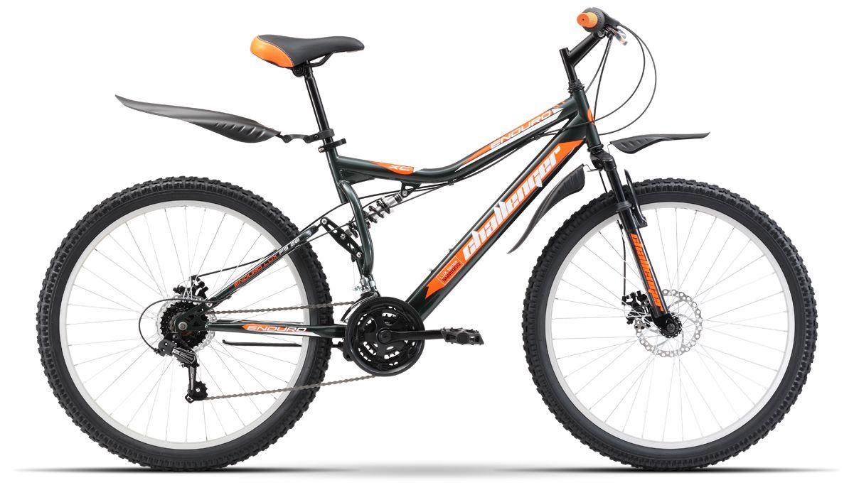 Велосипед Challanger Enduro Lux FS 26 D 2017 велосипед challenger genesis lux fs 26 d черно красный 16