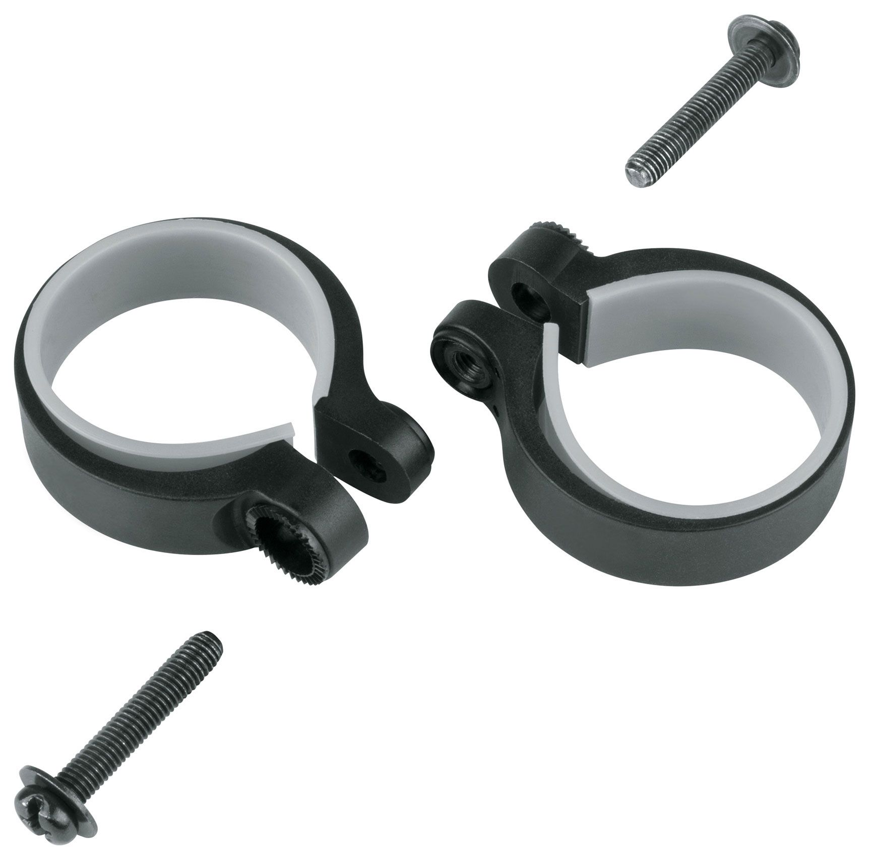 Запчасть SKS Stay Mounting Clamps 2 Pcs. 31,0 - 34,5Mm (SKS-11483) аксессуар sks velo 65 mountain 29 set incl u stays sks 11471