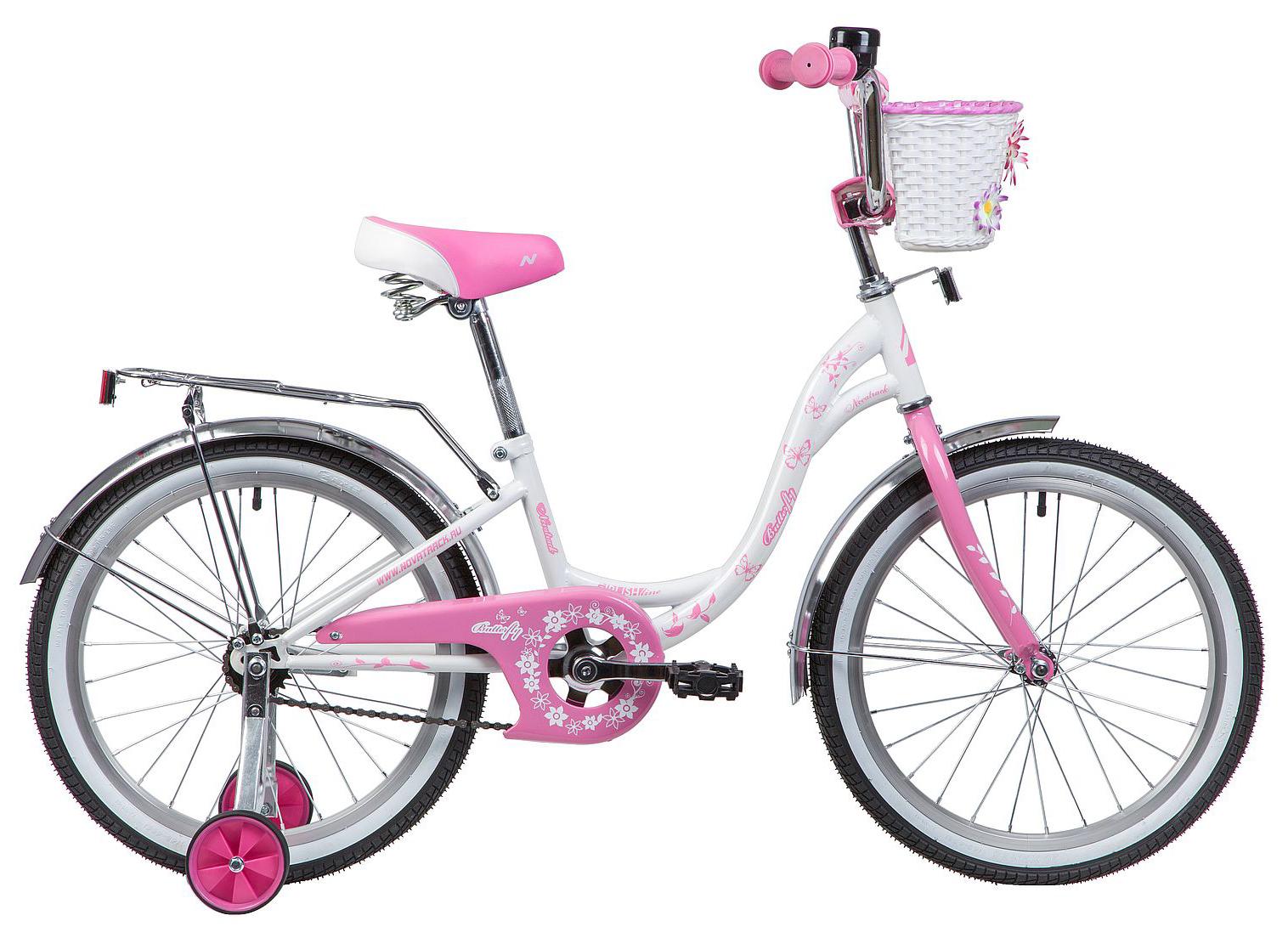 Велосипед Novatrack Butterfly 20 2019 цена