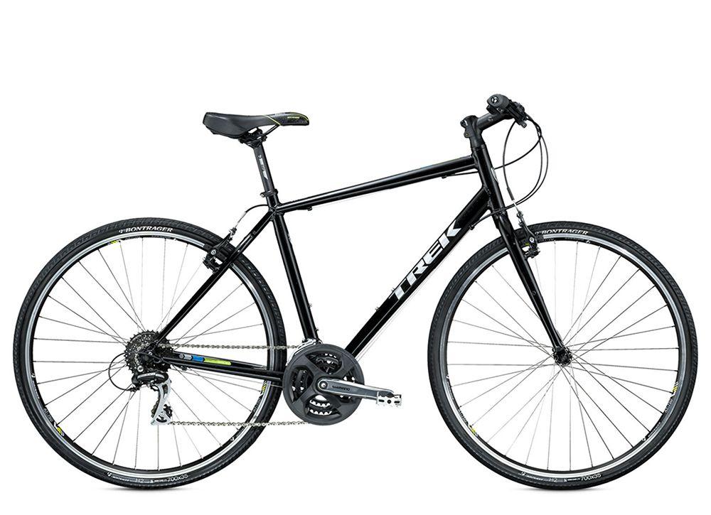 Велосипед TrekГородские<br>ВЕЛОСИПЕД TREK 7.2 FX (2015) – городской туристический байк, покоряющий своим стильным дизайном и техническим совершенством. Скоростной потенциал модели насчитывает 24 режима. Диаметр колес составляет 28 дюймов – это оптимальный размер, чтобы чувствовать себя уверенно и стабильно на любой дороге. Вилка байка изготовлена из высокопрочной стали: она отлично амортизирует удары от дорожного покрытия, гарантируя мягкую работу подвески. Ободные тормоза Tektro из алюминиевого сплава ведут себя отлично даже на сложных участках дороги во влажную погоду. Седло Bontrager SSR имеет анатомическую конструкцию и исключает ощущение усталости.Купить ВЕЛОСИПЕД 7.2 FX (2015) можно на нашем сайте. Выгодная цена в рублях, 100 % гарантия товара и возможность его быстрой отправки в любой город РФ – наши основные преимущества.<br><br>year: 2015<br>пол: мужской<br>уровень оборудования: любительский<br>длина хода вилки: нет<br>блокировка амортизатора: нет<br>планетарная втулка: нет<br>рулевая колонка: VP, полу-картриджные подшипники<br>вынос: Bontrager SSR, 25.4 мм, 10 градусов<br>руль: Bontrager Low Riser, 25.4 мм, подъем 15 мм<br>передний тормоз: Tektro, алюминиевый сплав<br>задний тормоз: Tektro, алюминиевый сплав<br>тормозные ручки: Shimano Altus<br>цепь: KMC Z7<br>система: Shimano M131, 48/38/28 w/chainguard<br>педали: Nylon body w/alloy cage<br>ободья: Bontrager AT-750, 32 отверстия, с двойными стенками, алюминиевый сплав<br>передняя втулка: Formula FM21, алюминиевый сплав<br>задняя втулка: Formula FM32, алюминиевый сплав<br>передняя покрышка: Bontrager H2, Hard-Case Lite w/puncture resistant belt, 700 x 35c<br>задняя покрышка: Bontrager H2, Hard-Case Lite w/puncture resistant belt, 700 x 35c<br>седло: Bontrager SSR<br>подседельный штырь: Bontrager SSR, 27.2 мм,  offset 12 мм<br>кассета: Shimano HG31 11-32, 8 скоростей<br>манетки: Shimano Altus EF51, 8 скоростей<br>рама: Алюминиевый сплав, FX Alpha Silver, совместим DuoTrap S, стойка и крепления брызговика<br