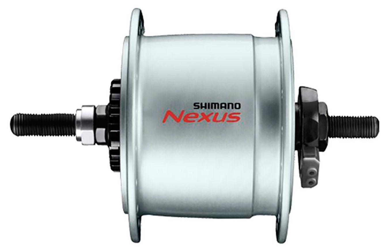 Запчасть Shimano динамо, C3000-NT, 6V 3.0W, 36отв. (ADHC30003NNAS) втулка планетарная shimano c3000 36 отв 7ск ножн торм 127x175 5мм б уп
