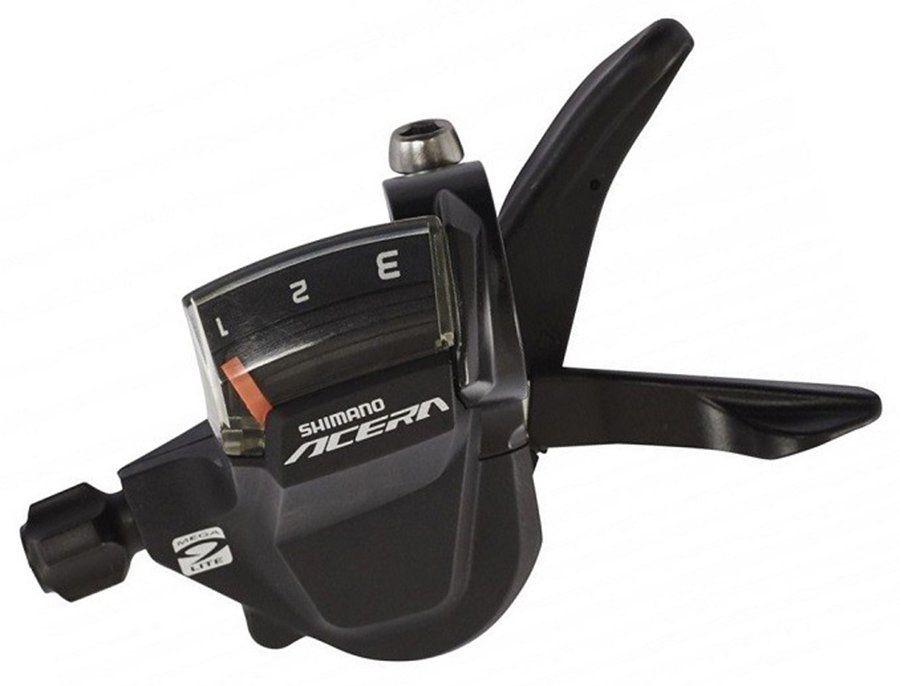 Запчасть Shimano Acera M3000, лев, 3ск (eslm3000lb) шифтер shimano acera m3010 левый 2 скорости трос 1800 мм eslm3010lb