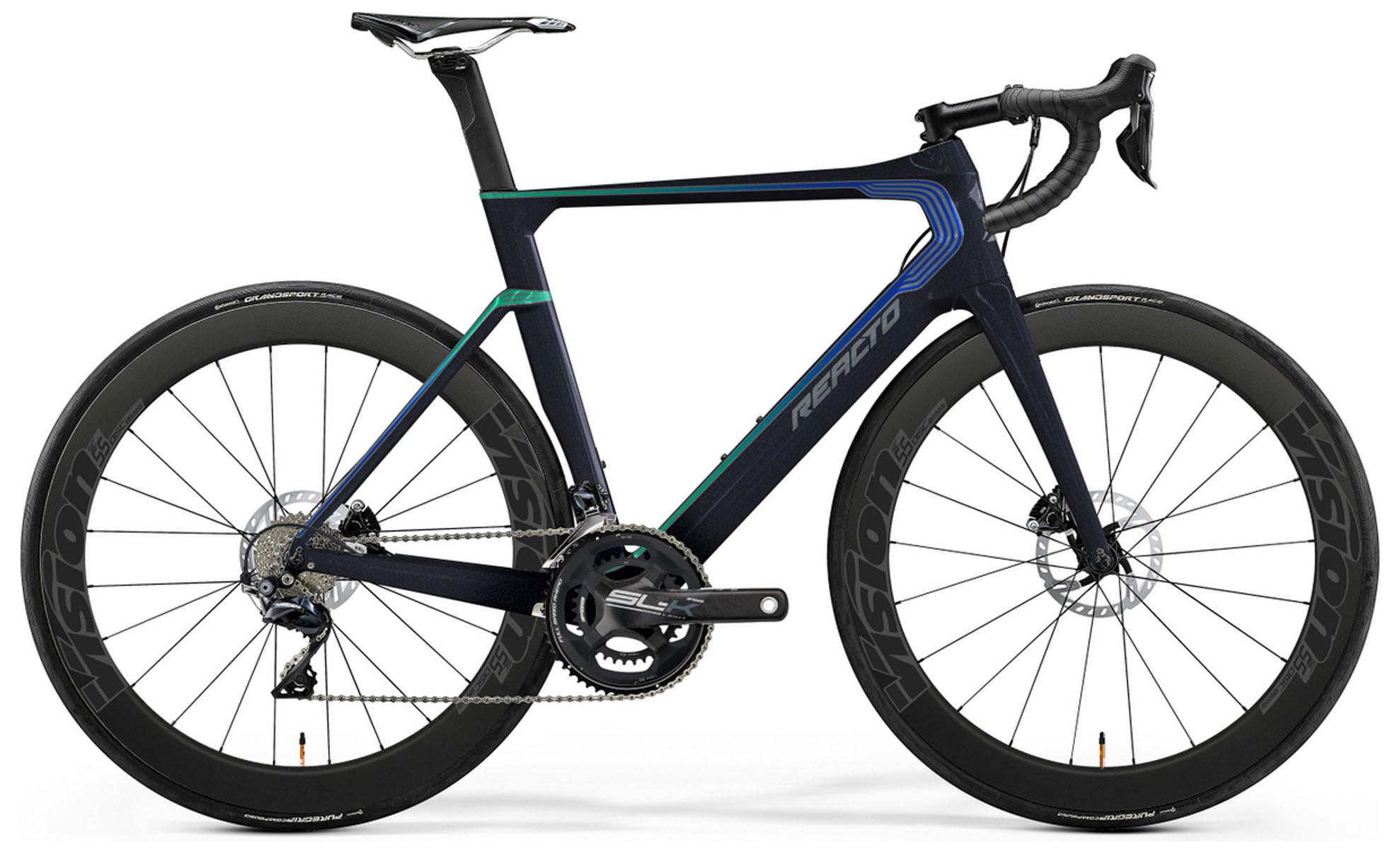 Велосипед Merida Reacto Disc YC Edition 2019 цены онлайн