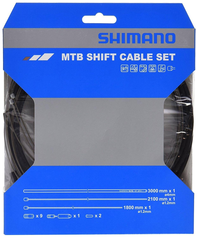 купить Запчасть Shimano трос переключения с оплеткой SP41 (Y60098021) недорого