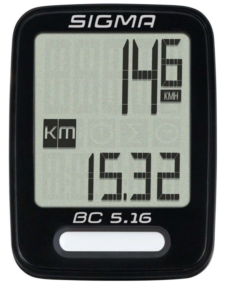 Аксессуар SIGMA BC 5.16,5 функций велокомпьютер sigma bc 12 12 sts
