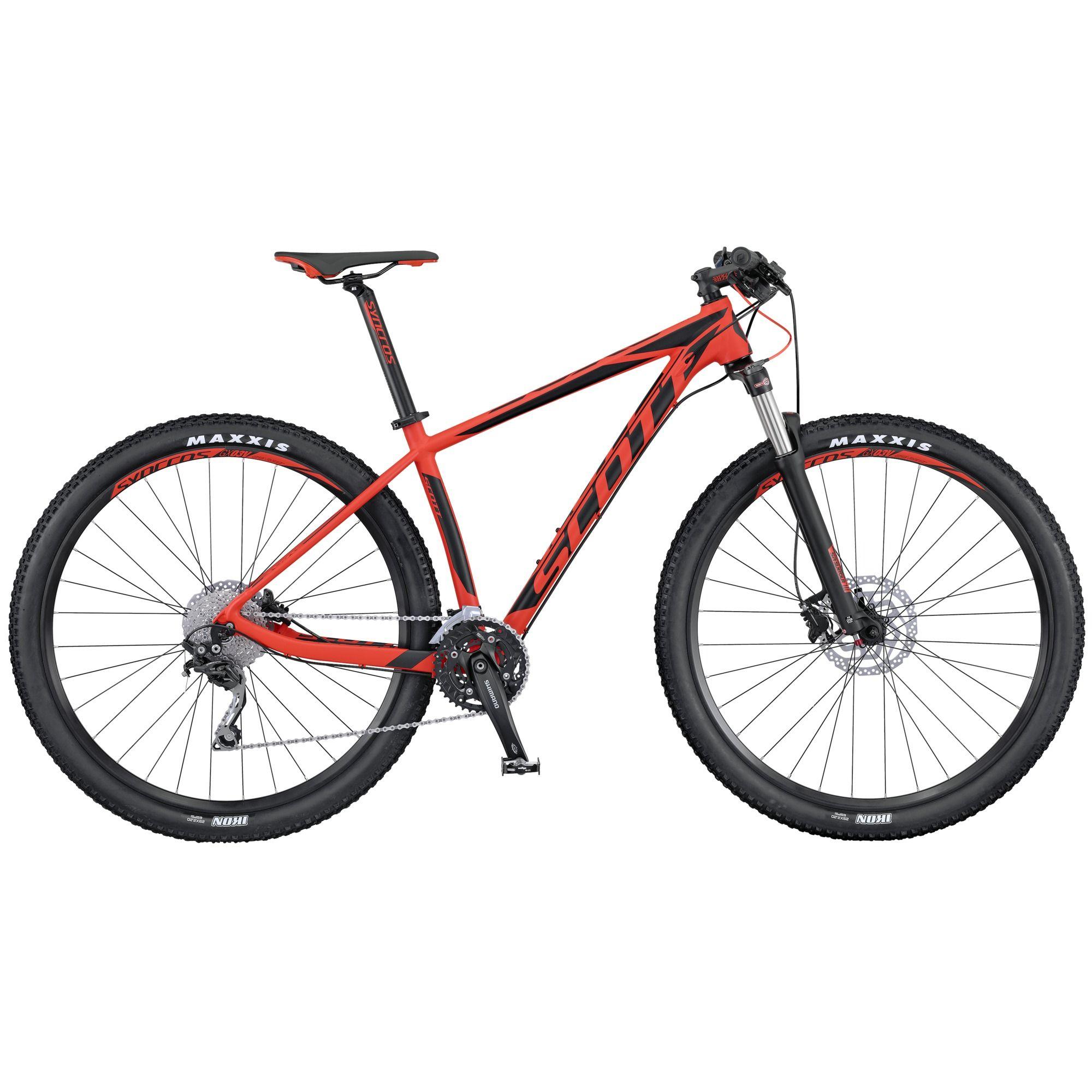 Велосипед ScottГорные<br><br><br>year: 2016<br>цвет: белый<br>пол: мужской<br>тип тормозов: дисковый гидравлический<br>диаметр колеса: 29<br>тип рамы: хардтейл<br>уровень оборудования: продвинутый<br>материал рамы: алюминий<br>тип амортизированной вилки: пружинно-масляная<br>длина хода вилки: от 100 до 150 мм<br>тип заднего амортизатора: без амортизатора<br>количество скоростей: 30<br>блокировка амортизатора: да<br>рулевая колонка: Syncros OE, полуинтегрированная, OD 50/61 мм, 1.5<br>вынос: Syncros, алюминиевый сплав 6061, 1 1/8<br>руль: Syncros Tbar, алюминиевый сплав 6061, ширина 720 мм, 9°<br>передний тормоз: Shimano M396, диаметр ротора 180 мм<br>задний тормоз: Shimano M396, диаметр ротора 160 мм<br>цепь: KMC X10<br>система: Shimano FC-M523 Octalink, 40x30x22T<br>каретка: Shimano ES300, Octalink, 73-118 мм<br>педали: Wellgo M-21<br>ободья: Syncros GX03V, 32H<br>передняя втулка: Formula CL51<br>задняя втулка: Shimano FH-RM35 CL<br>спицы: 15g нержавеющая сталь, черные, 1.8 мм<br>передняя покрышка: Maxxis Ikon, 27.5 x 2.2<br>задняя покрышка: Maxxis Ikon, 27.5 x 2.2<br>седло: Syncros XR2.5<br>подседельный штырь: Syncros, 31.6 мм<br>кассета: Shimano CS-HG50-10, 11-36T<br>задний переключатель: Shimano Deore RD-M610 SGS, Shadow Type<br>манетки: Shimano Deore SL-M610, Rapidfire plus<br>вес: 13.3 кг<br>рама: Scale, Custom butted, superlight tubing, алюминиевый сплав SL<br>вилка: Suntour XCR RL-R, ход 100 мм<br>размер рамы: 20&amp;amp;quot;<br>Серия: Scale