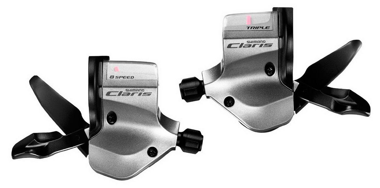 Запчасть Shimano Claris 2400, лев/пр, 2x8 ск. переключатель задний shimano claris 2400 gs 8 скоростей page 5