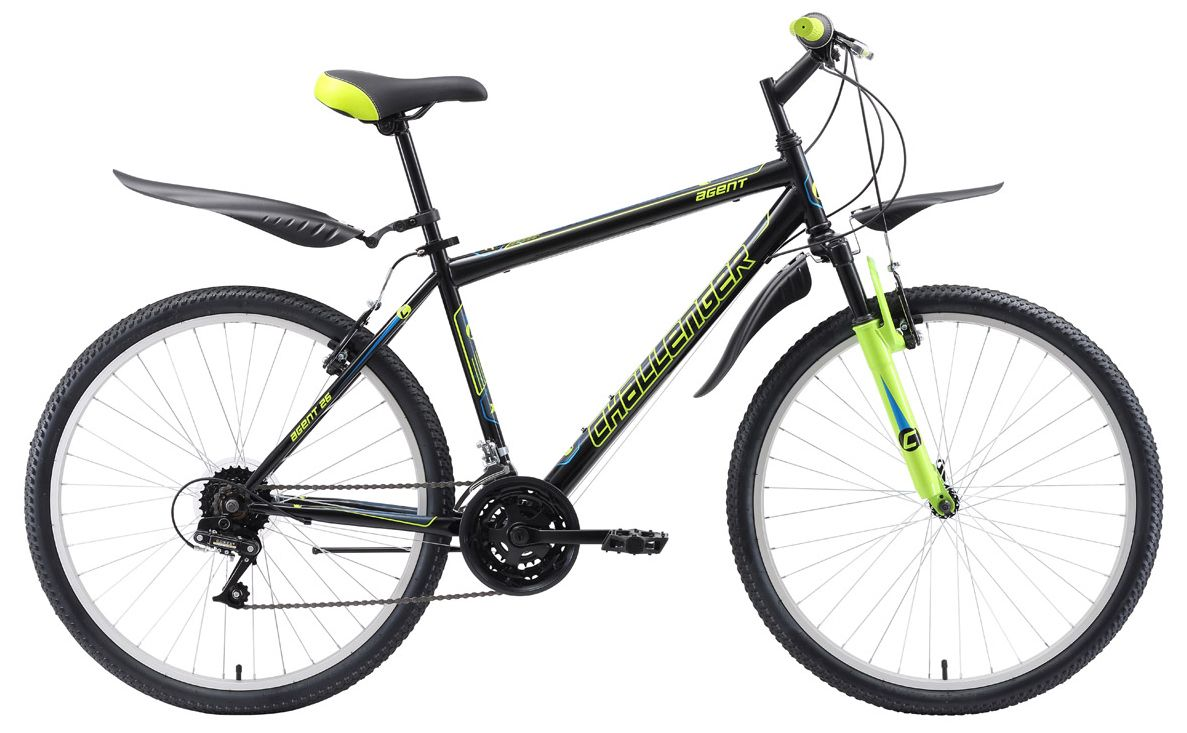 Велосипед Challanger Agent 26 2018 велосипед challenger agent 26 черно красный 18