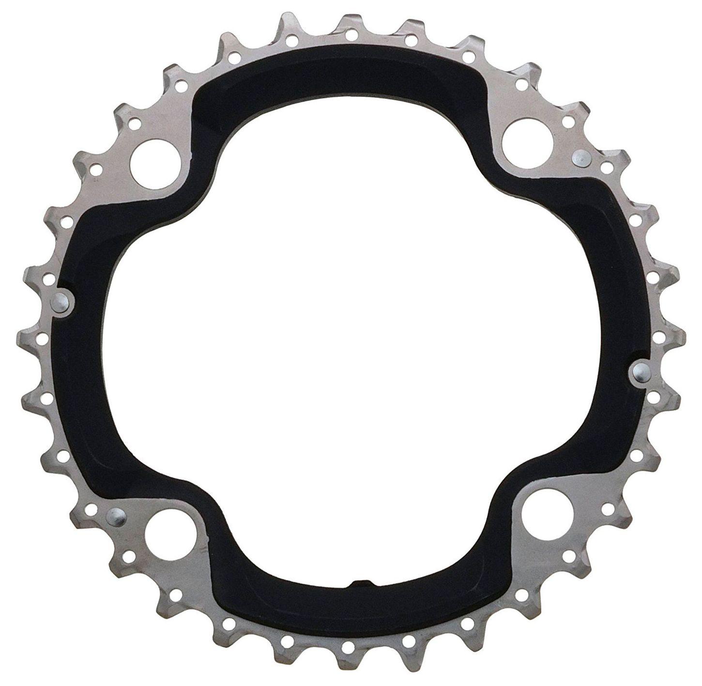 Запчасть Shimano передняя SLX, для FC-M670, 32T, AE шифтер для велосипеда shimano deore slx m670 левый 2 3 скоростей без упаковки kslm670lb