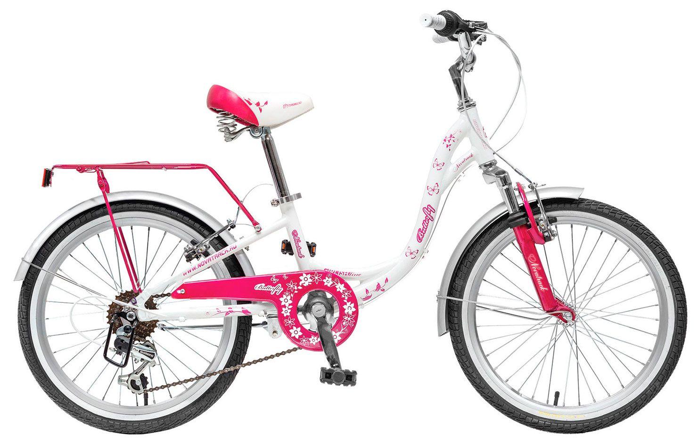 Велосипед Novatrack Butterfly 20 2018 novatrack novatrack велосипед 2 х колесный maple 12 зеленый