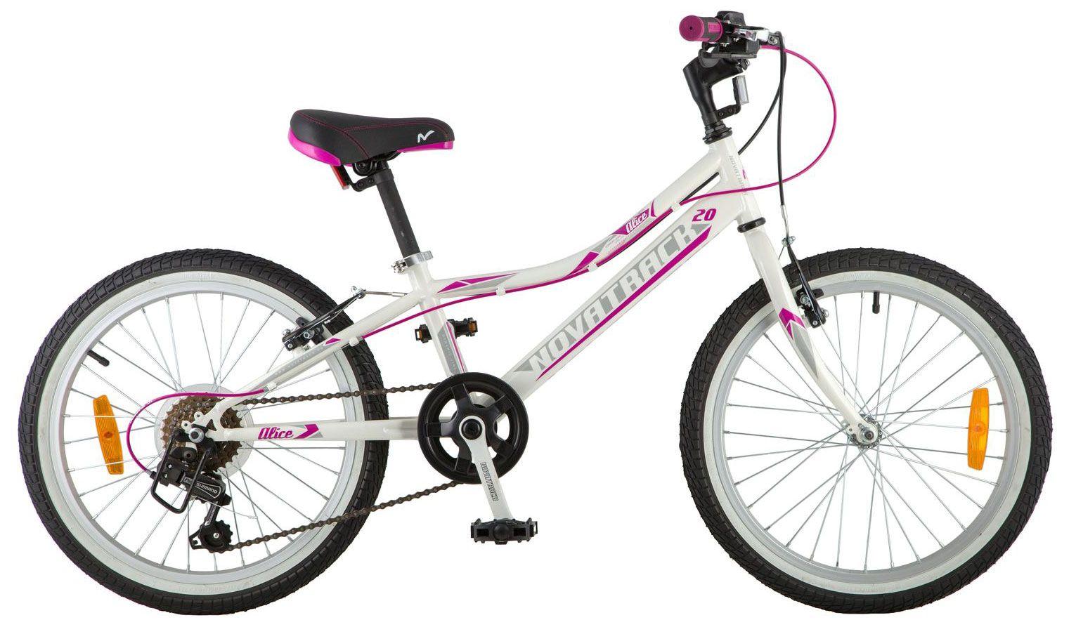 Велосипед Novatrack Alice 20 2018 детский велосипед для мальчиков novatrack cosmic 14 2017 blue