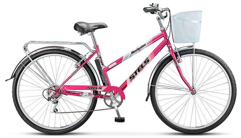 Велосипед Stels Navigator 350 Lady 28 (Z010) 2018 велосипед stels navigator 350 lady 28 z010 2018 рама 20 красный