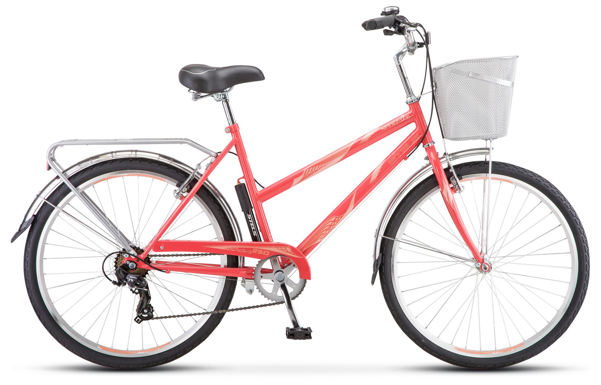 Велосипед Stels Navigator 250 Lady 26 (Z010) 2019 двухколесные велосипеды stels jet 18 z010