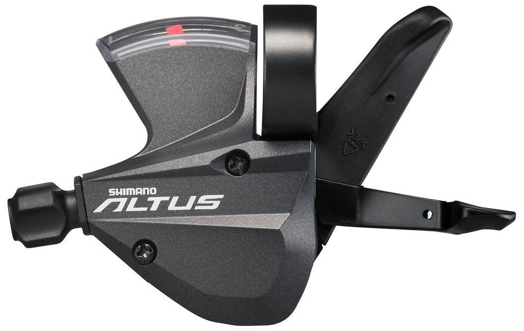 Запчасть Shimano Altus M370, прав, 9ск, тр. 2050 мм,  переключение  - артикул:281227