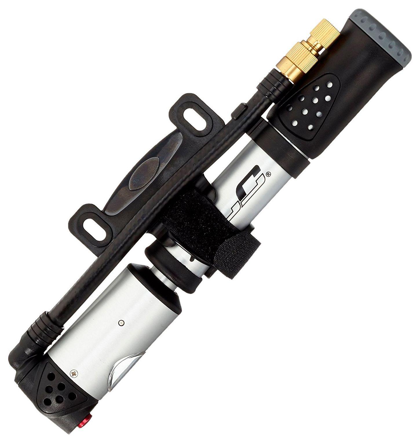 Аксессуар XLC PumpTube 2-1 Funktions-P насос подкачки ножной с маном 2 цилиндра vettler