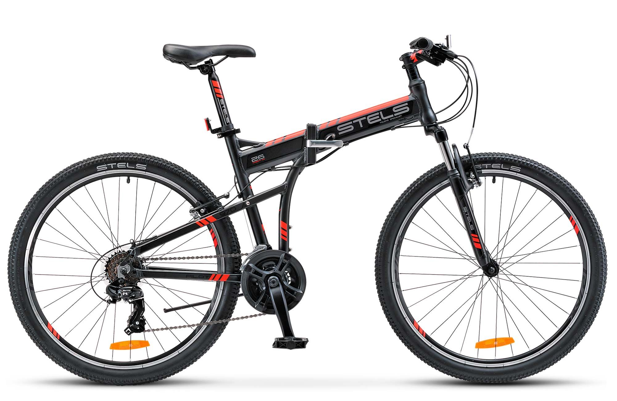 Велосипед Stels Pilot 970 V 2017,  Складные  - артикул:278633