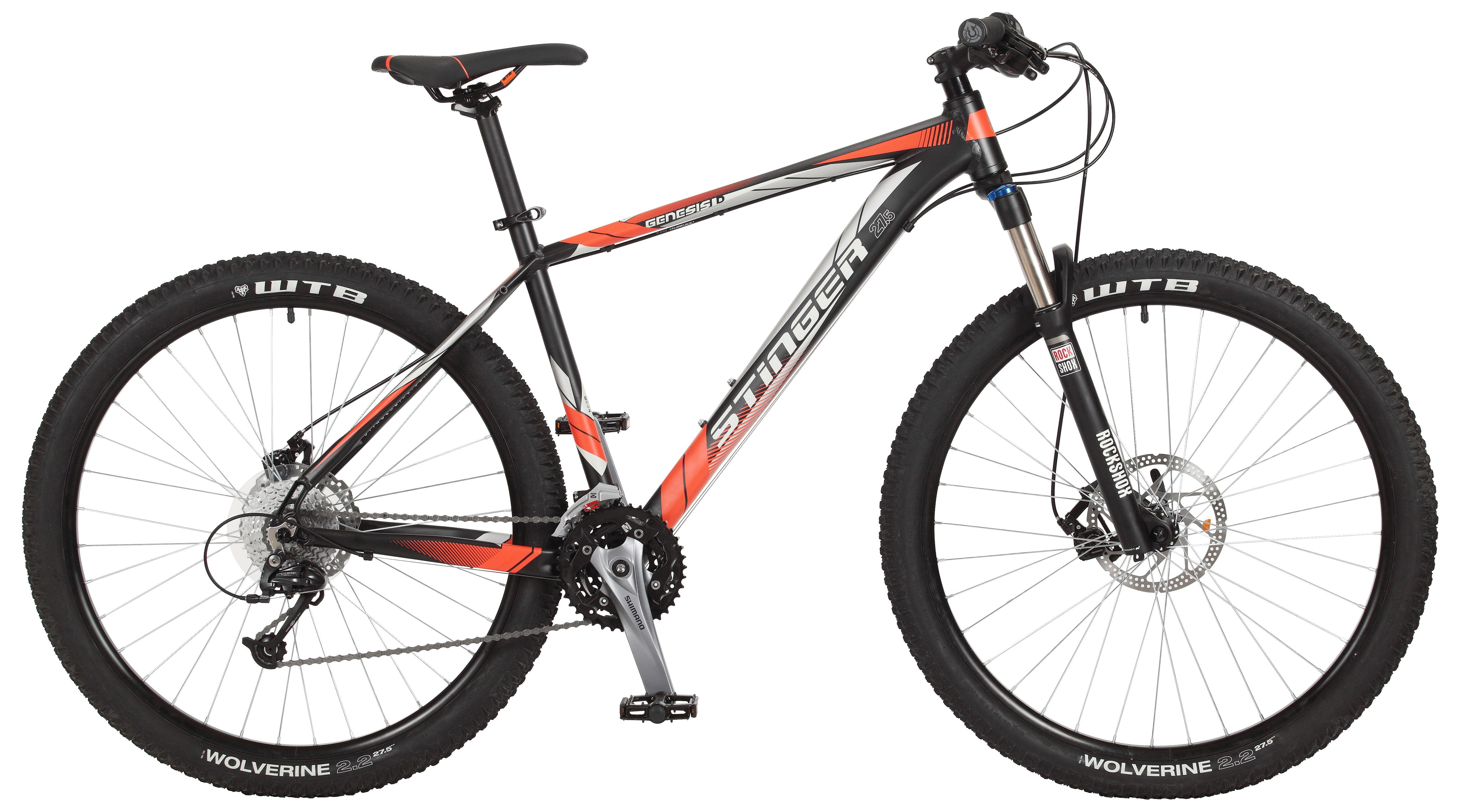 Велосипед Stinger Genesis D 27.5 2017