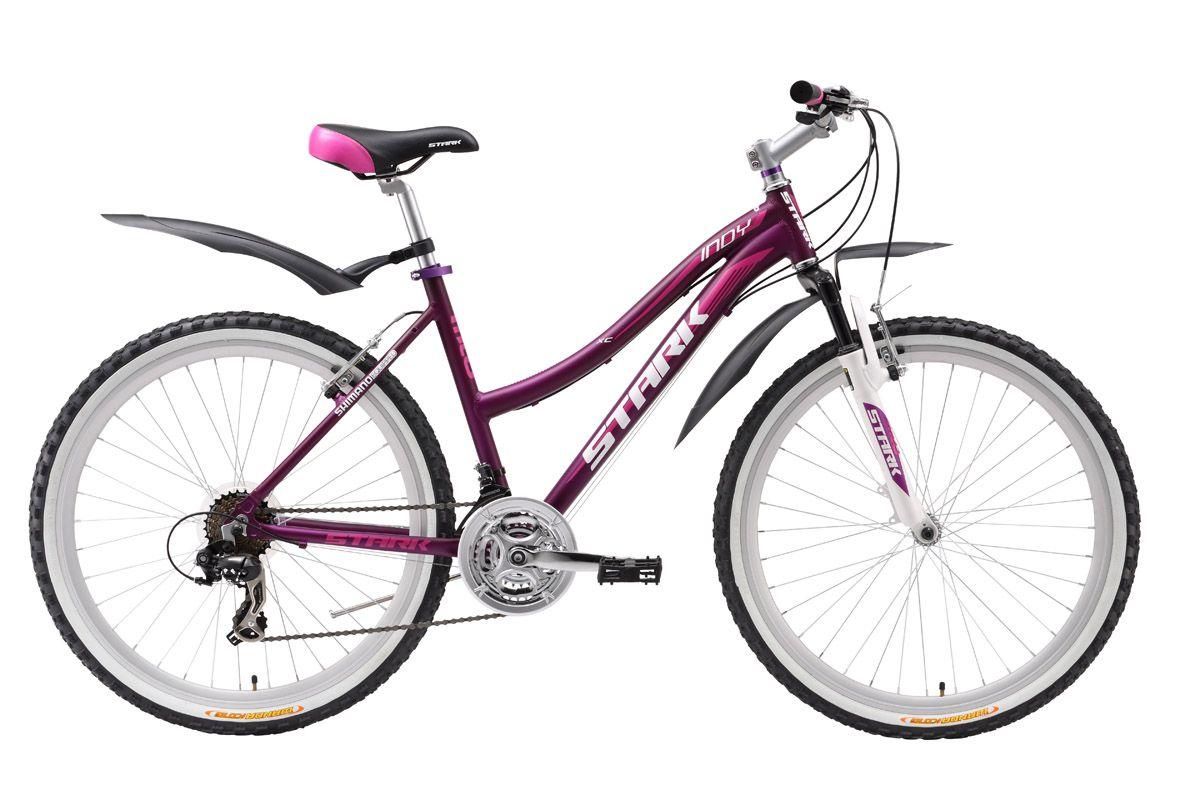 Велосипед Stark Indy Lady 2016 женский велосипед навигатор купить в пензе