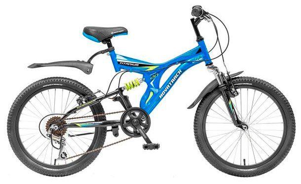 Велосипед Novatrack Titanium 20 2015 novatrack maple 2015 green