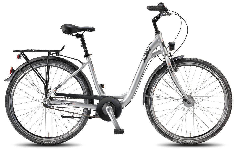 Велосипед KTM City Fun 26.3 DA-W 2018 велосипед ktm canic cxa 2018