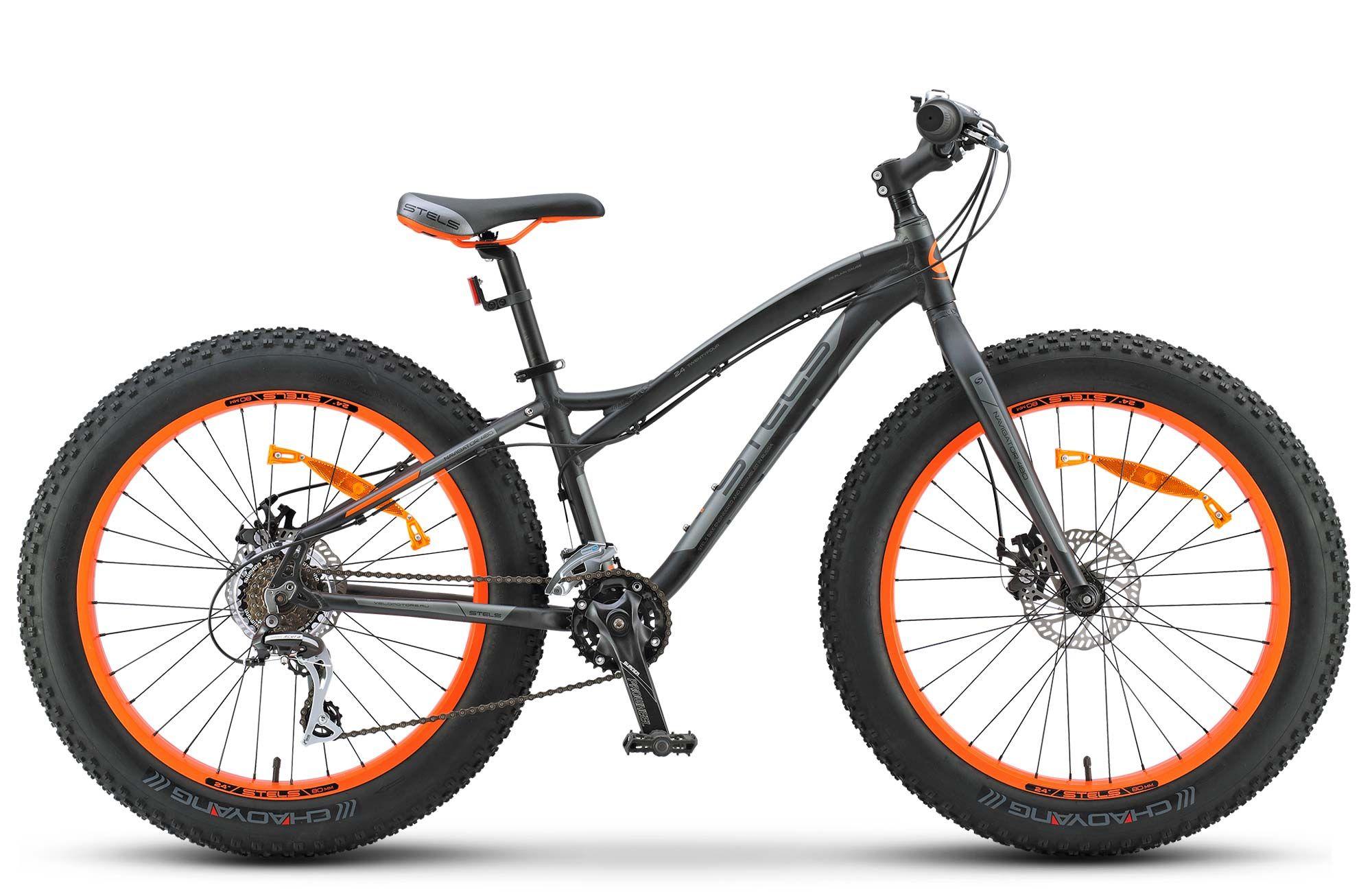 Велосипед Stels Navigator 480 MD 24 (V020) 2018 колесо переднее stels navigator 310