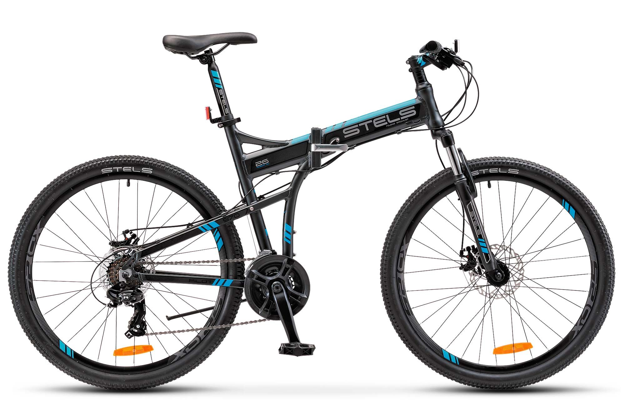 Велосипед Stels Pilot 970 MD 2017,  Складные  - артикул:278631