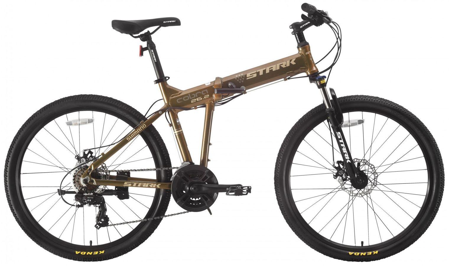 Велосипед Stark Cobra 26.2 D 2017,  Складные  - артикул:275618
